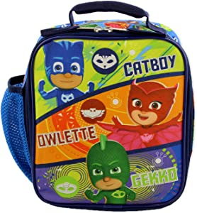 PJ Masks Boy's Girl's Soft Insulated School Lunch Box (One Size, BLue/Multi)