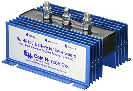 cole hersee 48120 battery isolator cole hersee battery isolator eaton& 39;s sure power 702 multi battery