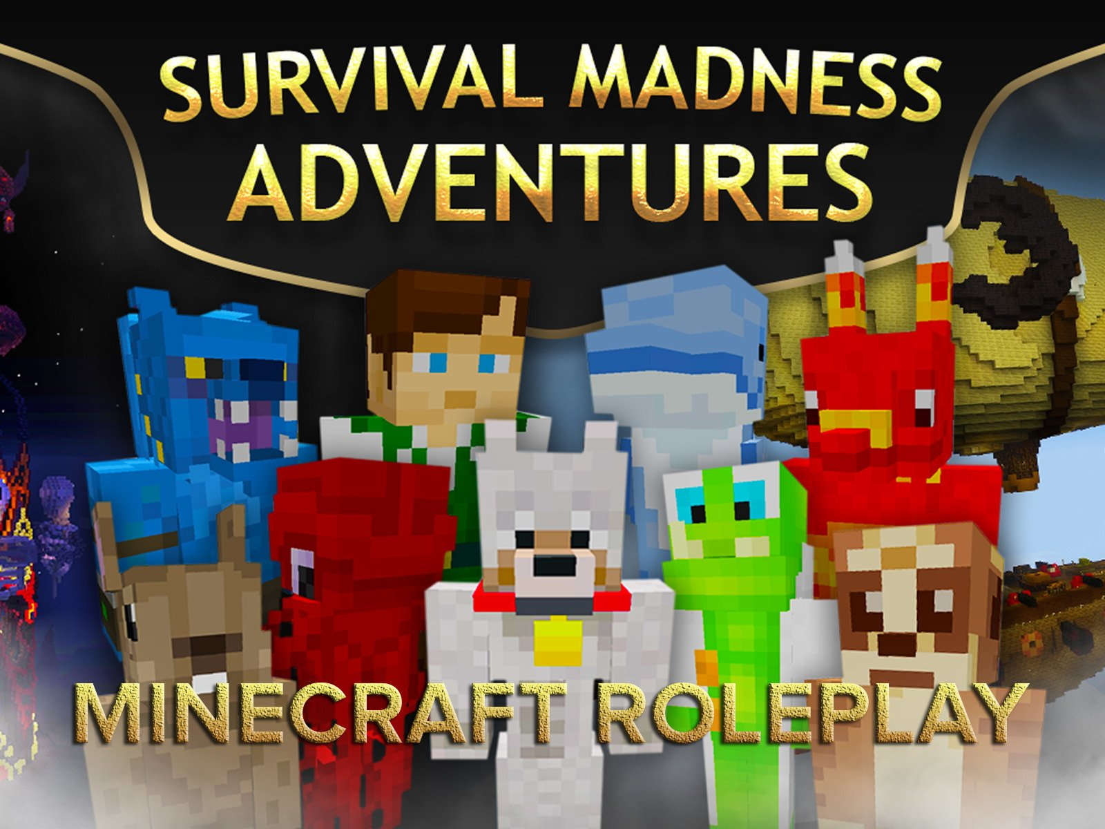 Clip: Survival Madness Adventures (Minecraft Roleplay) on Amazon Prime Video UK