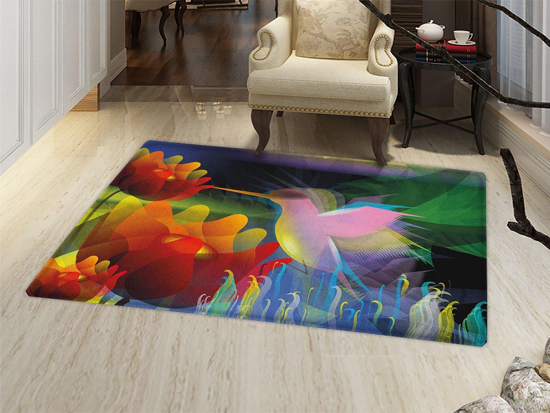 Amazon.com: smallbeefly arte Felpudo alfombra pequeña ...