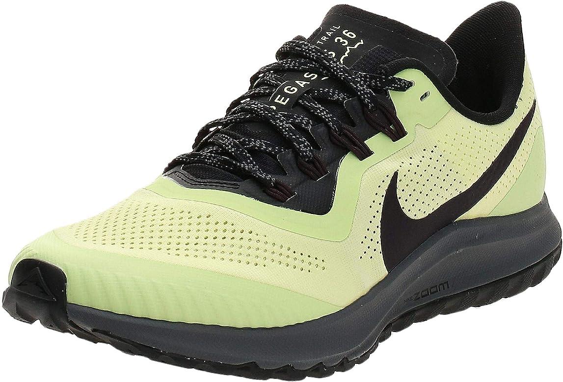 Nike Air Zoom Pegasus 36 Trail, Zapatillas de Atletismo para Hombre, Multicolor Luminous Green Burgundy Ash Black 300, 40 EU: Amazon.es: Zapatos y complementos