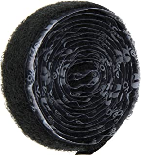 VELCRO 1005-AP-PSA//H Black Nylon Woven Fastening Tape 1-1//2 Wide Hook Type Pressure Sensitive Adhesive Back 15 Length