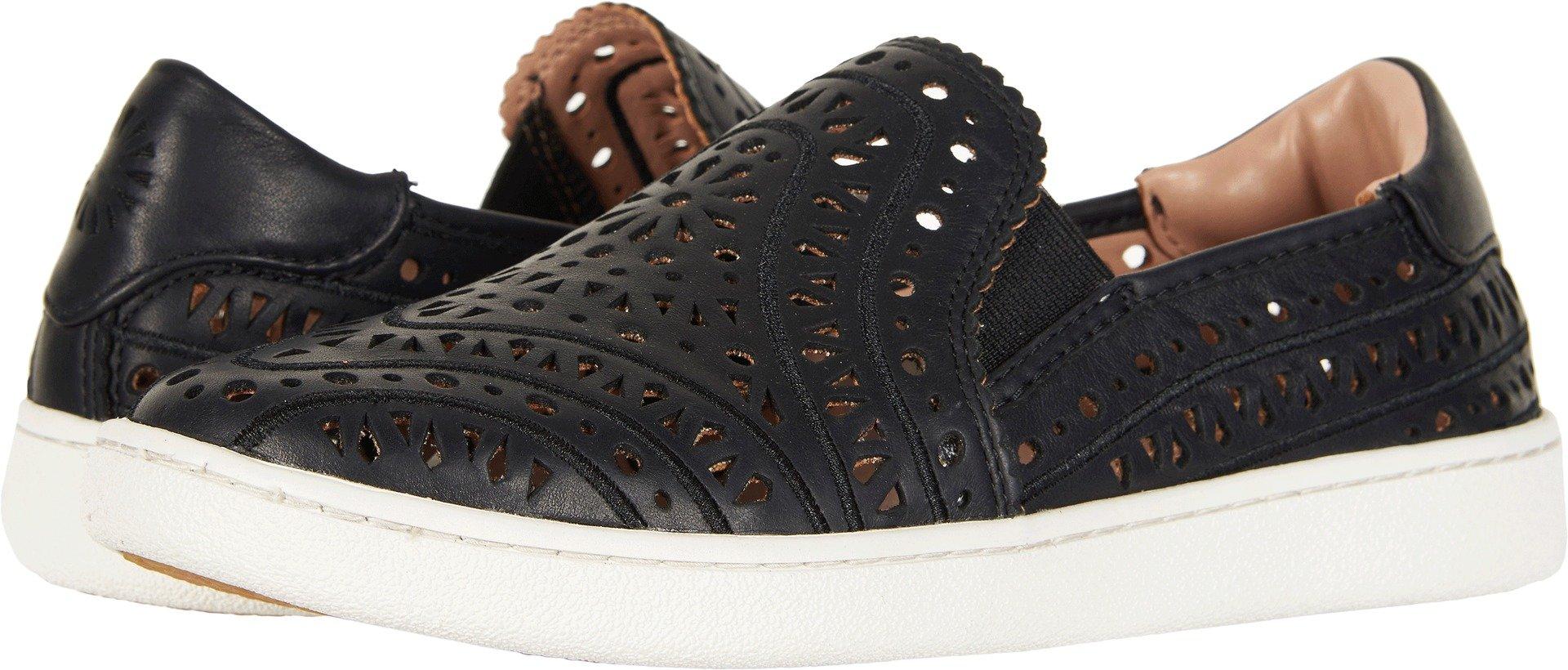 UGG Women's CAS Perf Sneaker, Black, 8.5 M US by UGG
