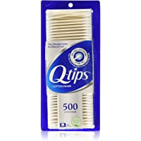 Q-tips Cotton Swabs 500 ea (Pack of 5)