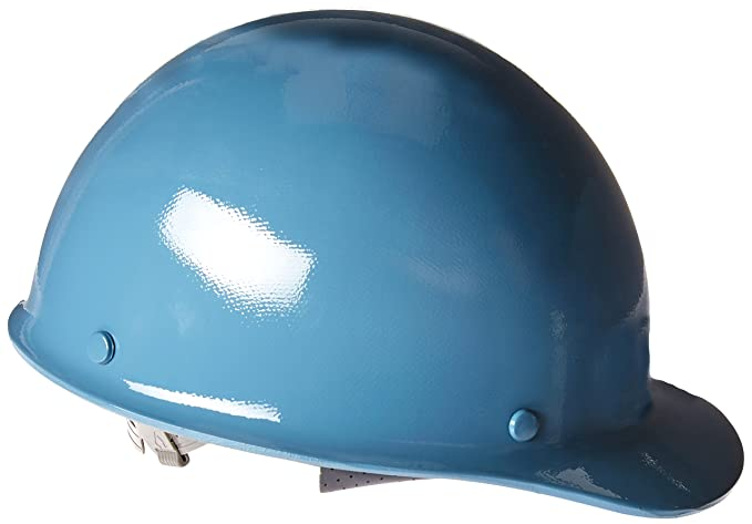 MSA Safety 475401 Skullgard Protective Cap with Fas-Trac Suspension,  Standard, Blue