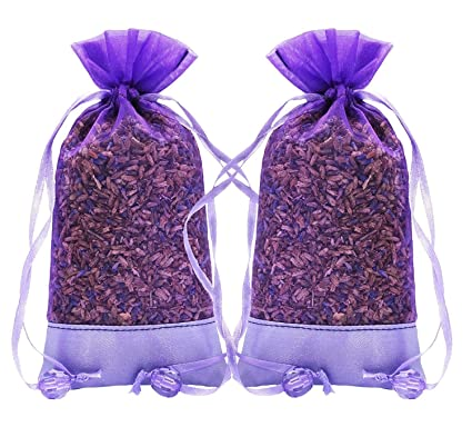 Merveilleux Lavender Natural Air Freshener For Closet, Drawer, Car, Room   2 Packs Of