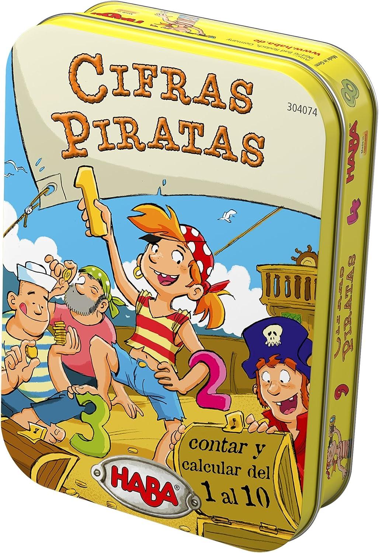 Haba- Cifras Piratas, Multicolor (Habermass 304074): Amazon.es: Juguetes y juegos
