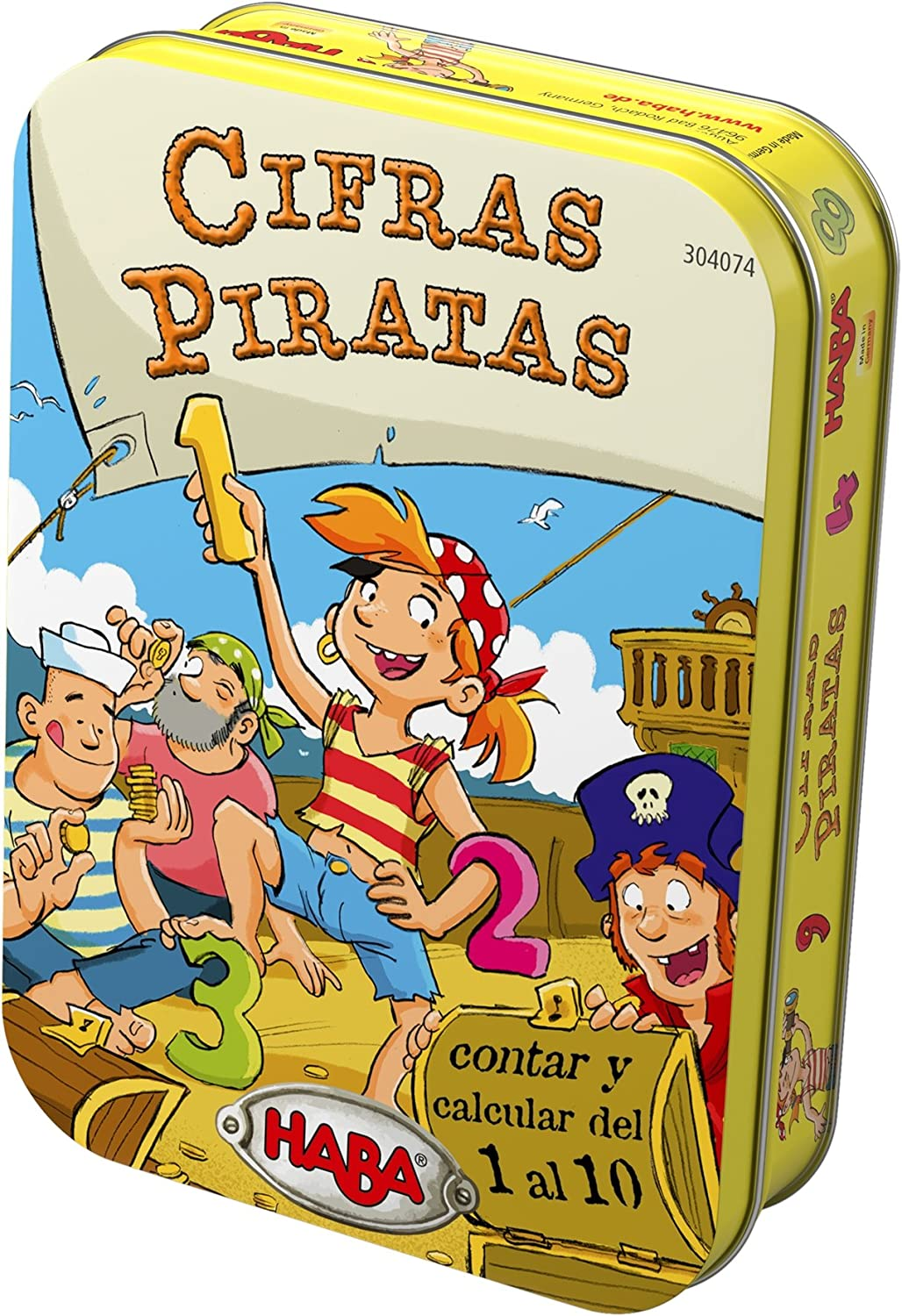 Haba- Cifras Piratas, (Habermass 304074): Amazon.es ...