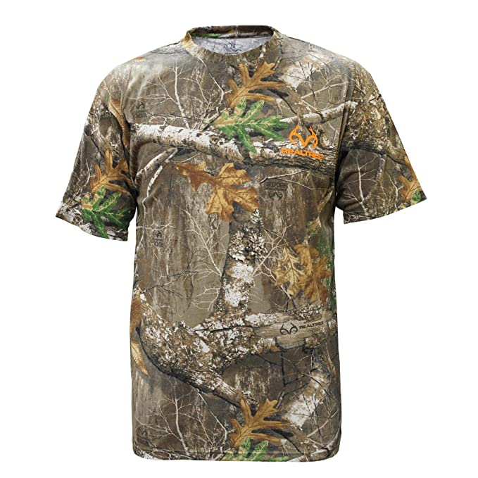 Amazon.com: Staghorn Realtree All Over Camo Camiseta de ...