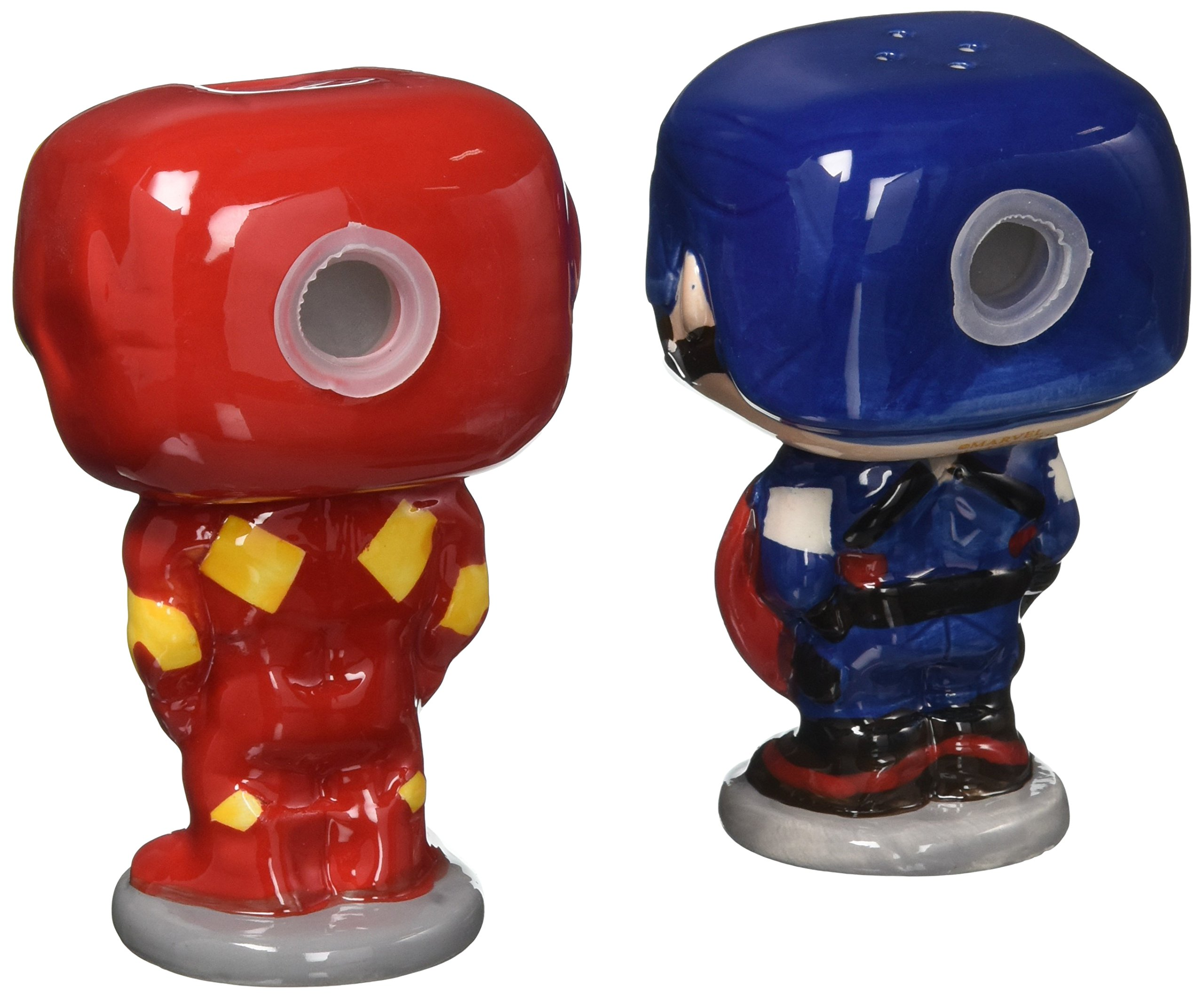 POP Marvel Salt N' Pepper Shakers - Captain America Iron Man