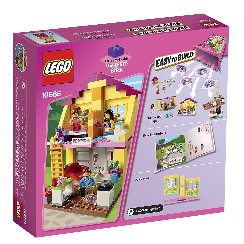 Amazon Lego Juniors 10686 Family House Building Kit Toys Games