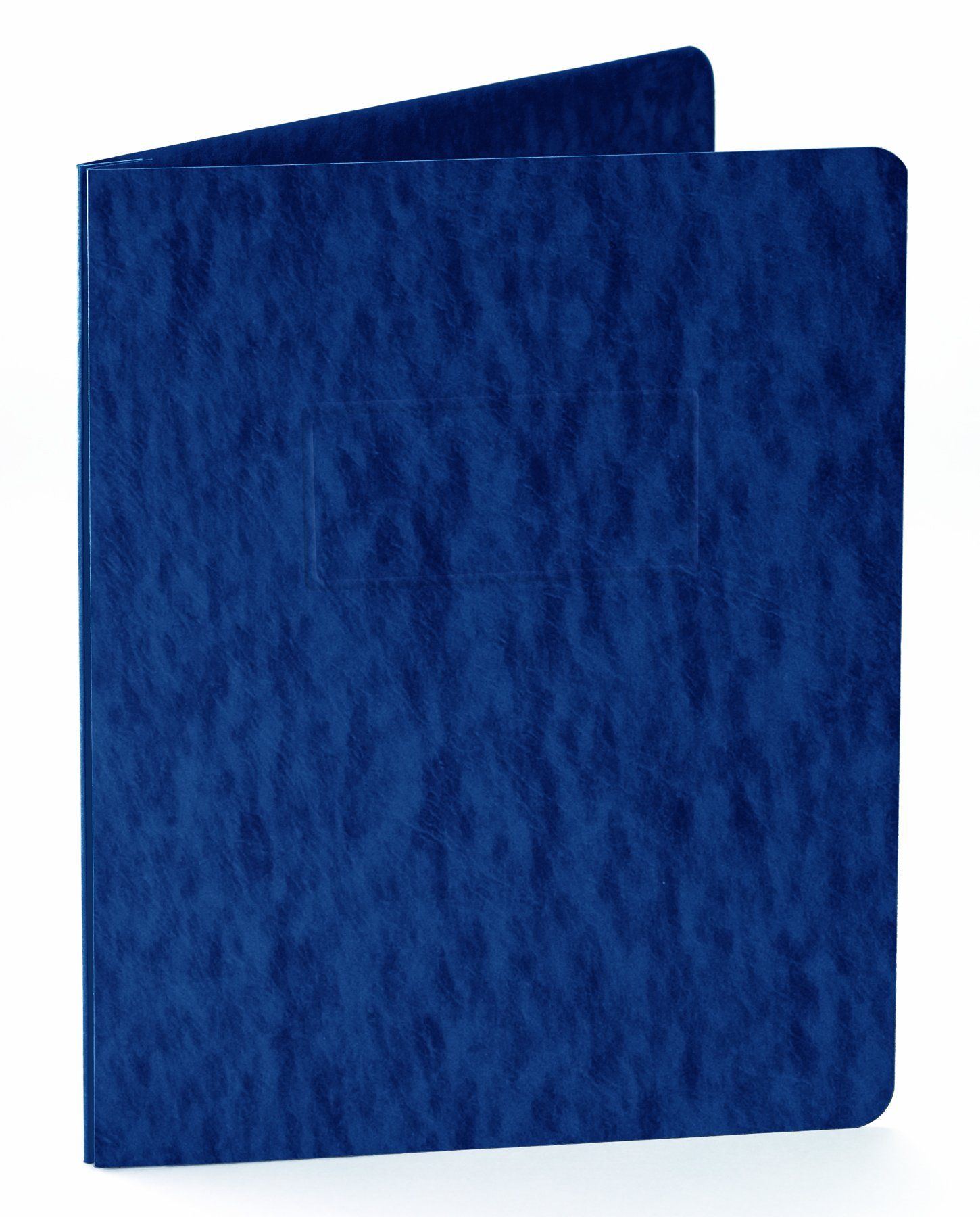 Oxford Pressboard Report Covers With Scored Side Hinge, 5 Pack, Letter, Dark Blue (99402EE)