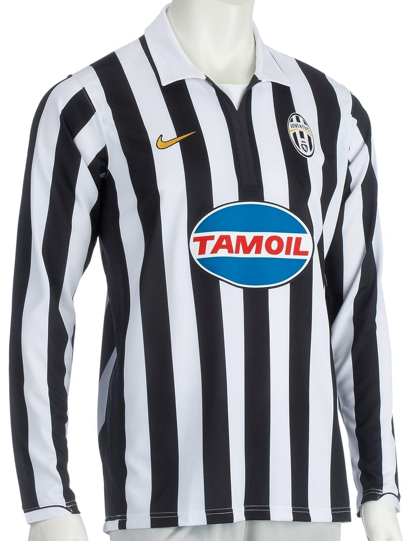 Nike Juventus LS REP JERSEY, schwarzweiß, S: