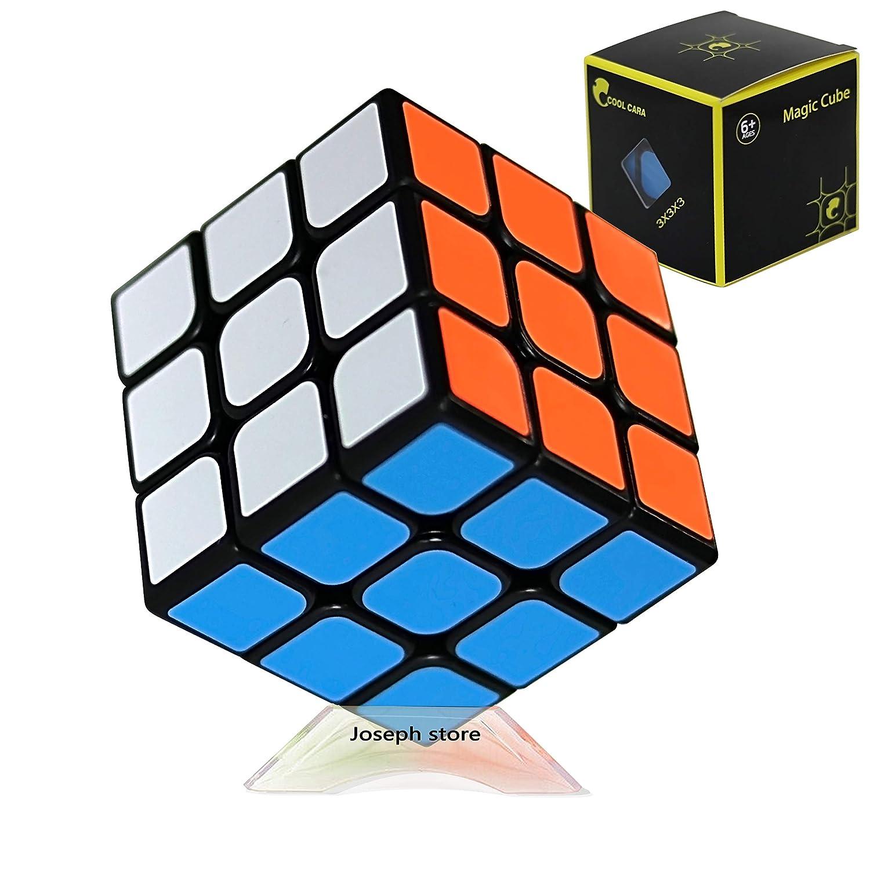 売上実績NO.1 Cool B07K2BYNSB 3x3 Cara トーナメントルービックスキューブ 3x3 スピードキューブ 頑丈で良質 バタフライスムーズな回転 最高のロジックゲーム パズルマジックトイ Cool 子供用 プロのキューバーへの究極のギフト B07K2BYNSB, タカヤナギマチ:8df51b87 --- a0267596.xsph.ru