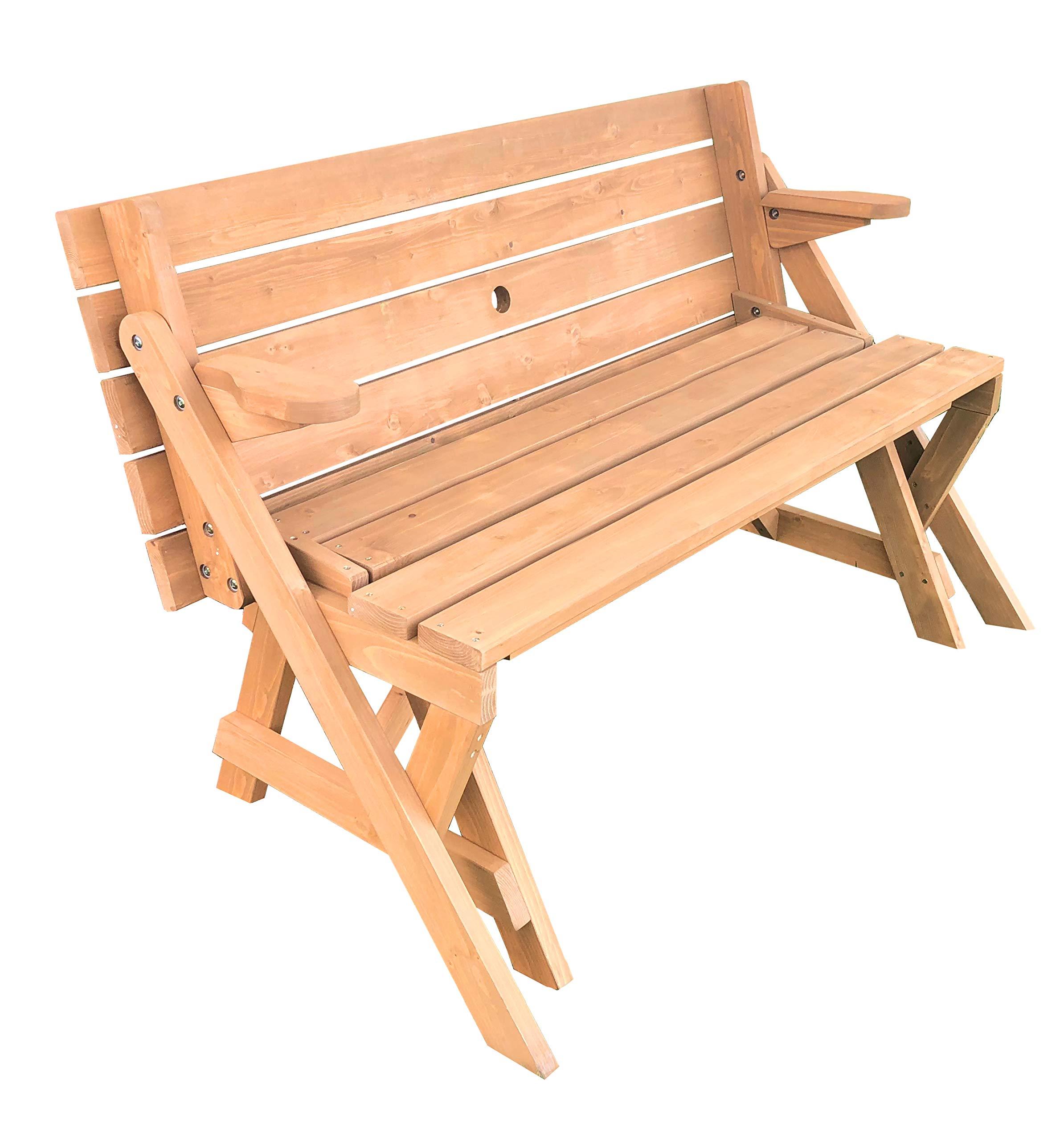 Tierra Garden 2-in-1 Convertible Junior Picnic Table/Bench by Tierra Garden (Image #2)