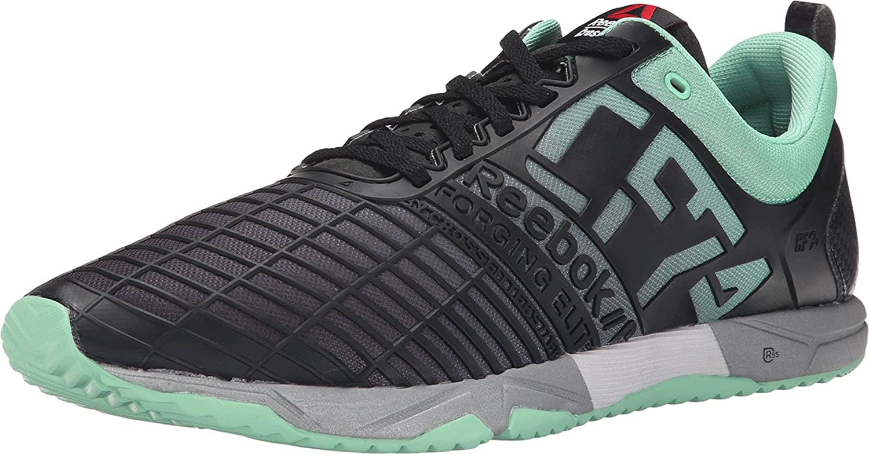Reebok Men s Crossfit Sprint Tr Mint Glow Black Metallic Silver Sneaker 10  D (M)  Amazon.co.uk  Shoes   Bags 10ccc1c2c