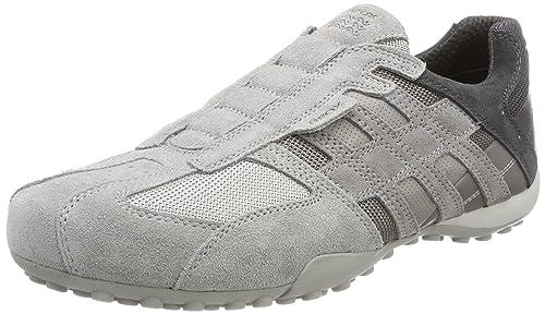 GEOX Schuhe Herren Sneaker UOMO SNAKE Turnschuhe Freizeitschuhe SALE Beige