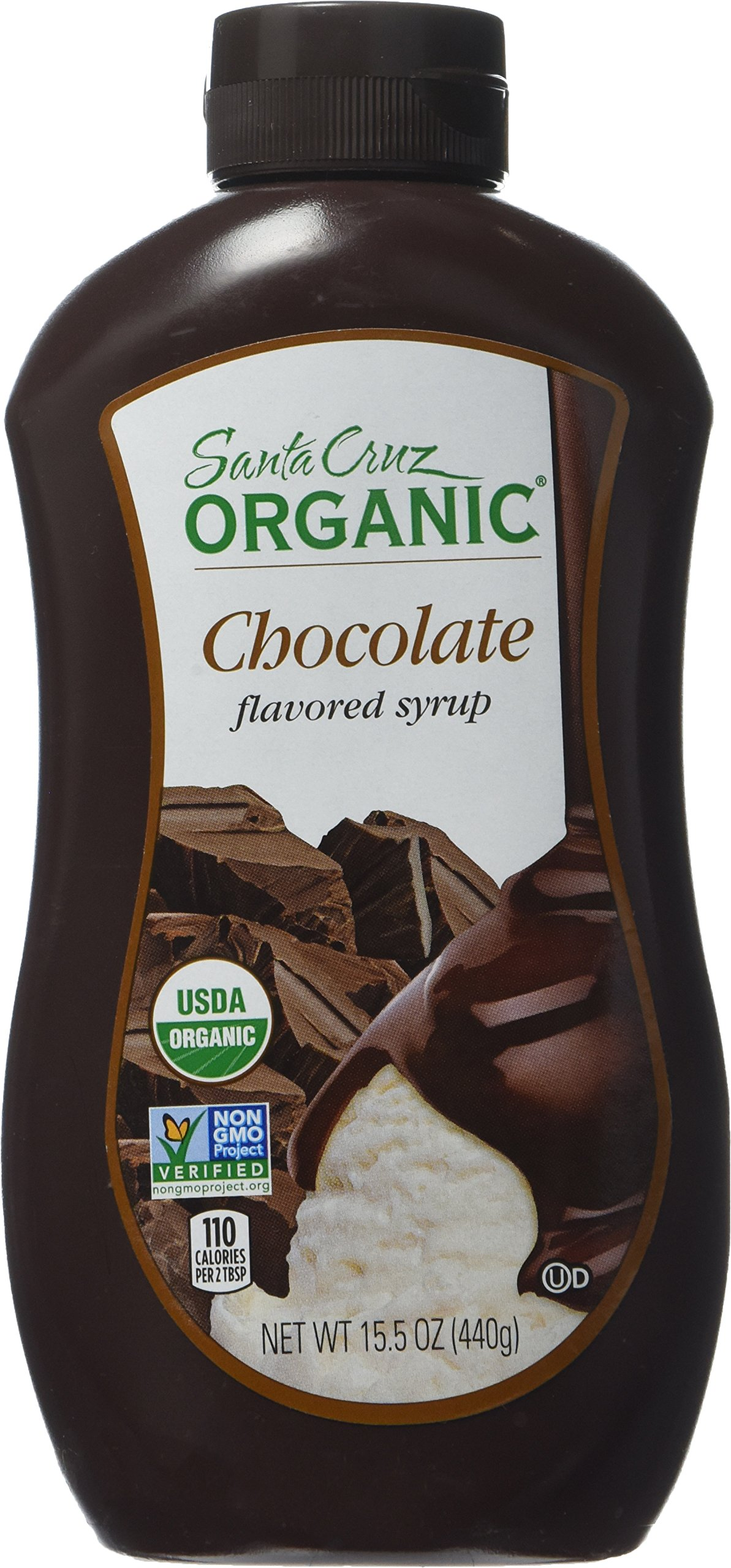 Santa Cruz Organic Chocolate Flavored Syrup, 15.5 Ounce