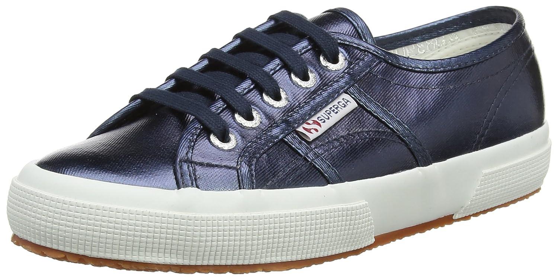 Superga 2750-Cotmetu, Zapatillas para Mujer 44.5 EU Azul (Blue)