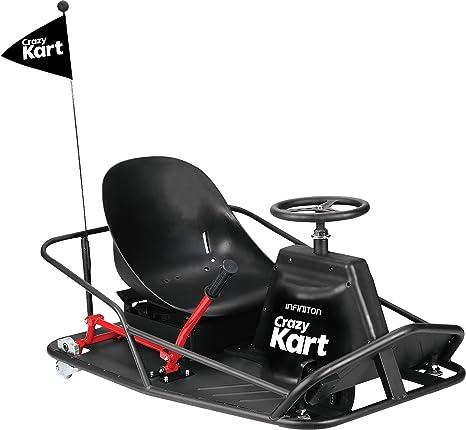 Crazy Kart Infiniton Negro Drift Vehiculo Electrico Niños Amazon Es Electrónica