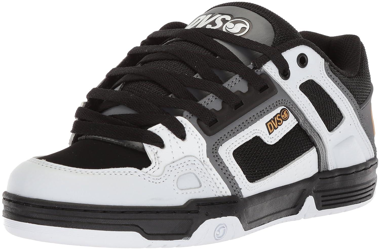 Dvs Footwear Mens メンズ B0741LJNLP 10.5 D(M) US White Charcoal Nubuck