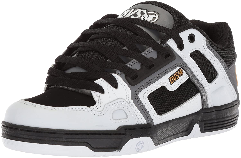 Dvs Footwear Mens メンズ B0741LCWDK 12 D(M) US White Charcoal Nubuck