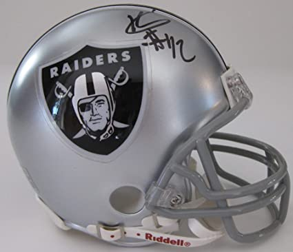 premium selection 96e59 54d1e Amazon.com: Karl Joseph Oakland Raiders signed autographed ...