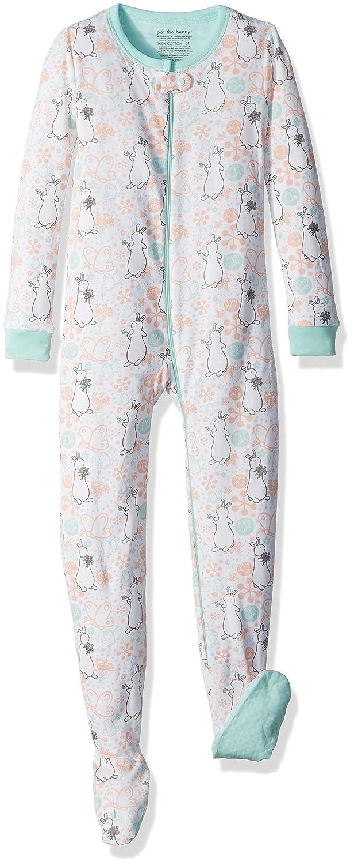 392a50ed5e95 Amazon.com  INTIMO Girls  Pat The Bunny Flower Pond Blanket Sleeper ...