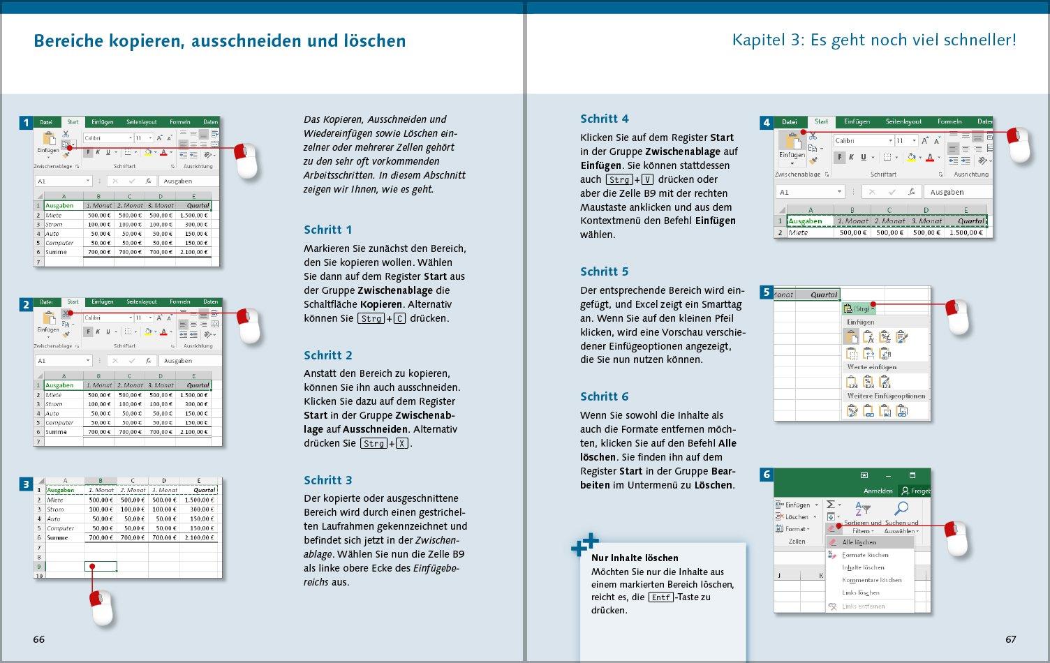 Excel 2016: Die Anleitung in Bildern. Komplett in Farbe. Für alle ...