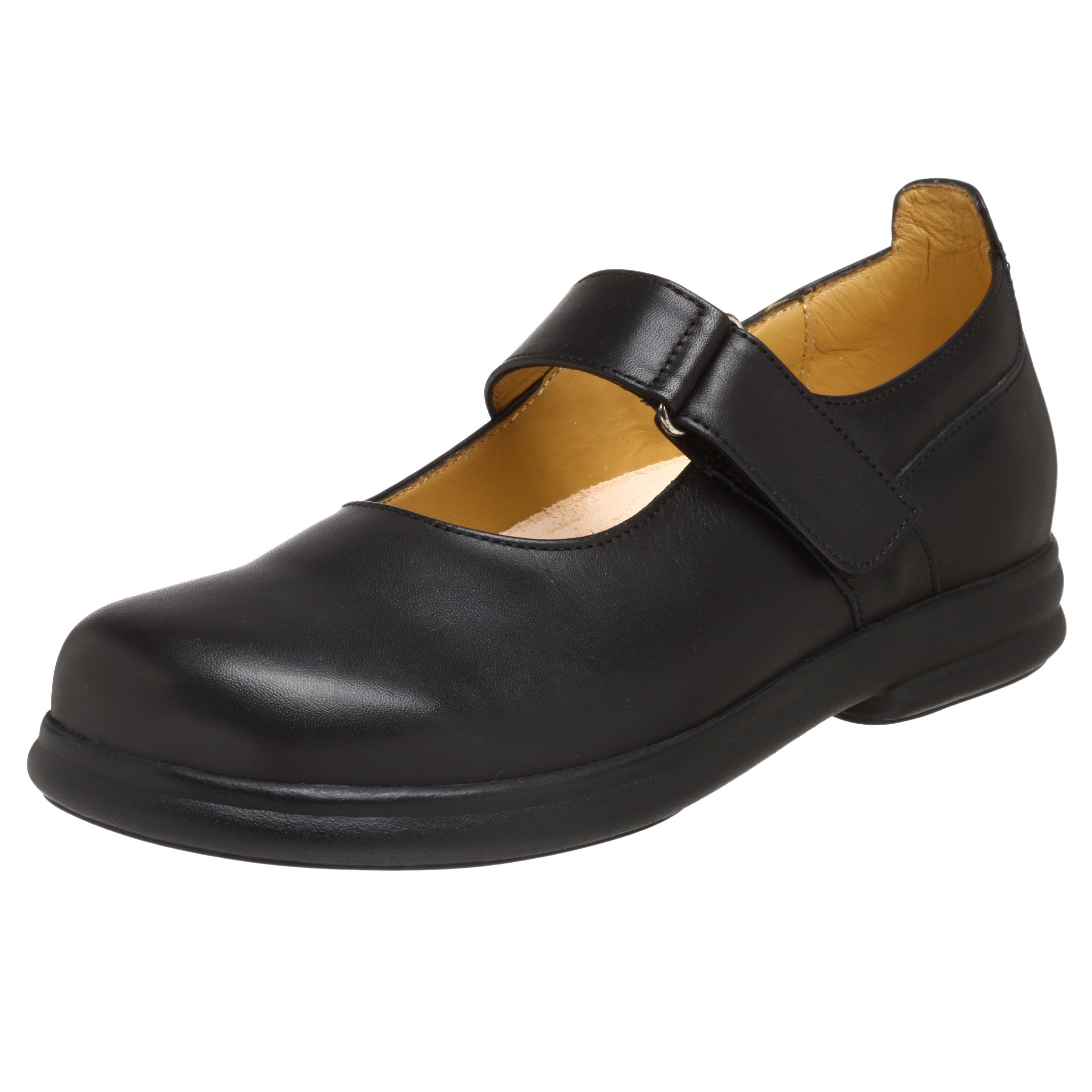 Footprints Women's Annapolis Mary Janes,Black Leather,EU 37 W