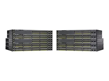 Cisco Catalyst 2960-X Series 48 Port Ethernet Switch with 740 Watt PoE,  WS-C2960X-48FPS-L