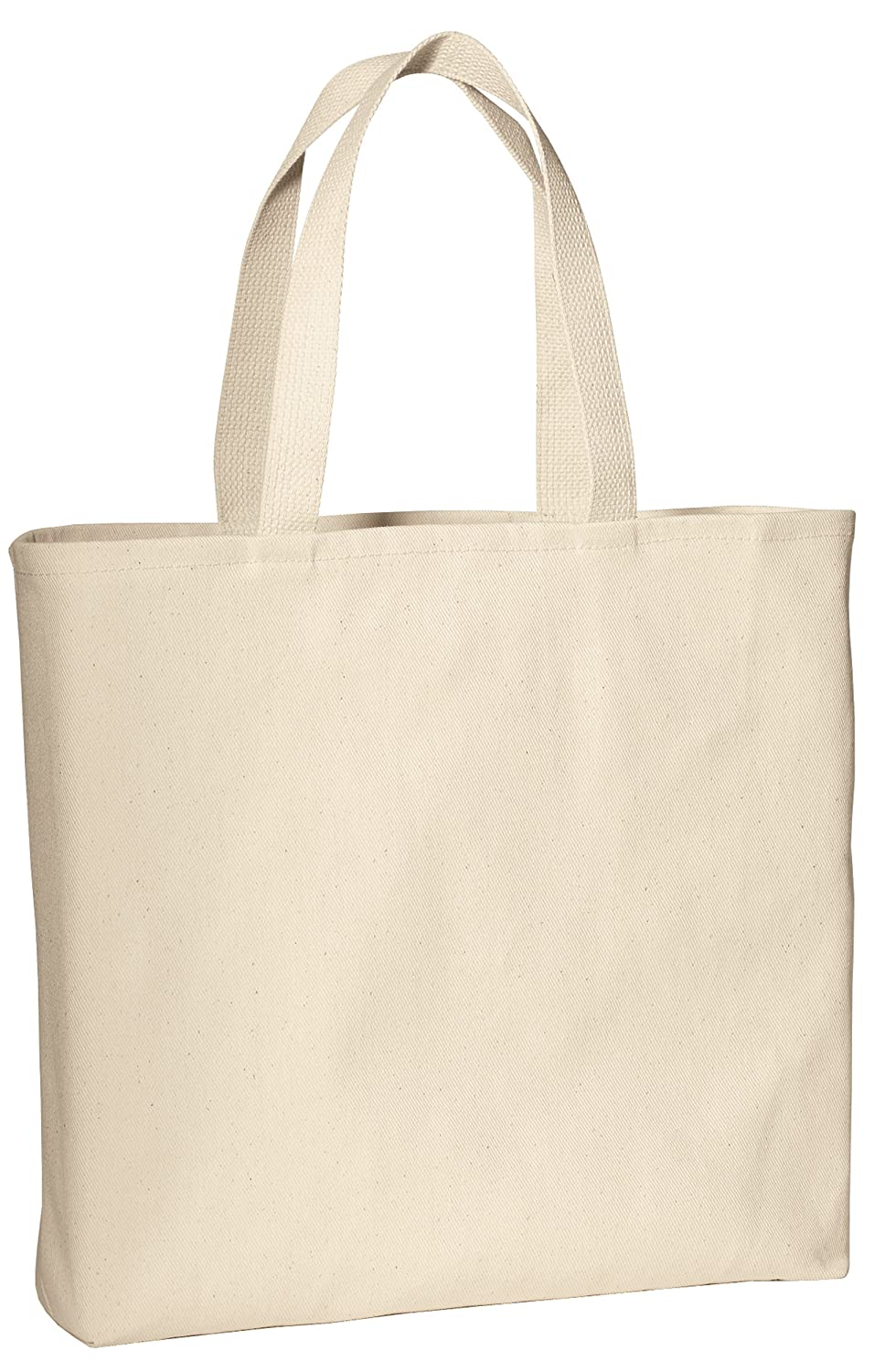 Durable 100% Cotton Twill Convention Wholesale Tote Bags w  Bottom Gusset -  Grocery Shopping Bags 6b7a6744931fc