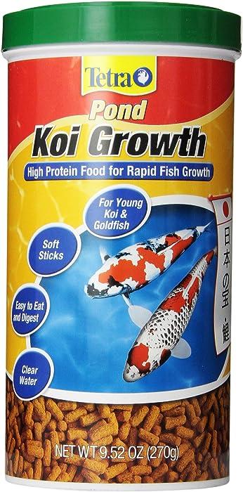 Tetra Pond High Protein Koi Growth Sticks Food