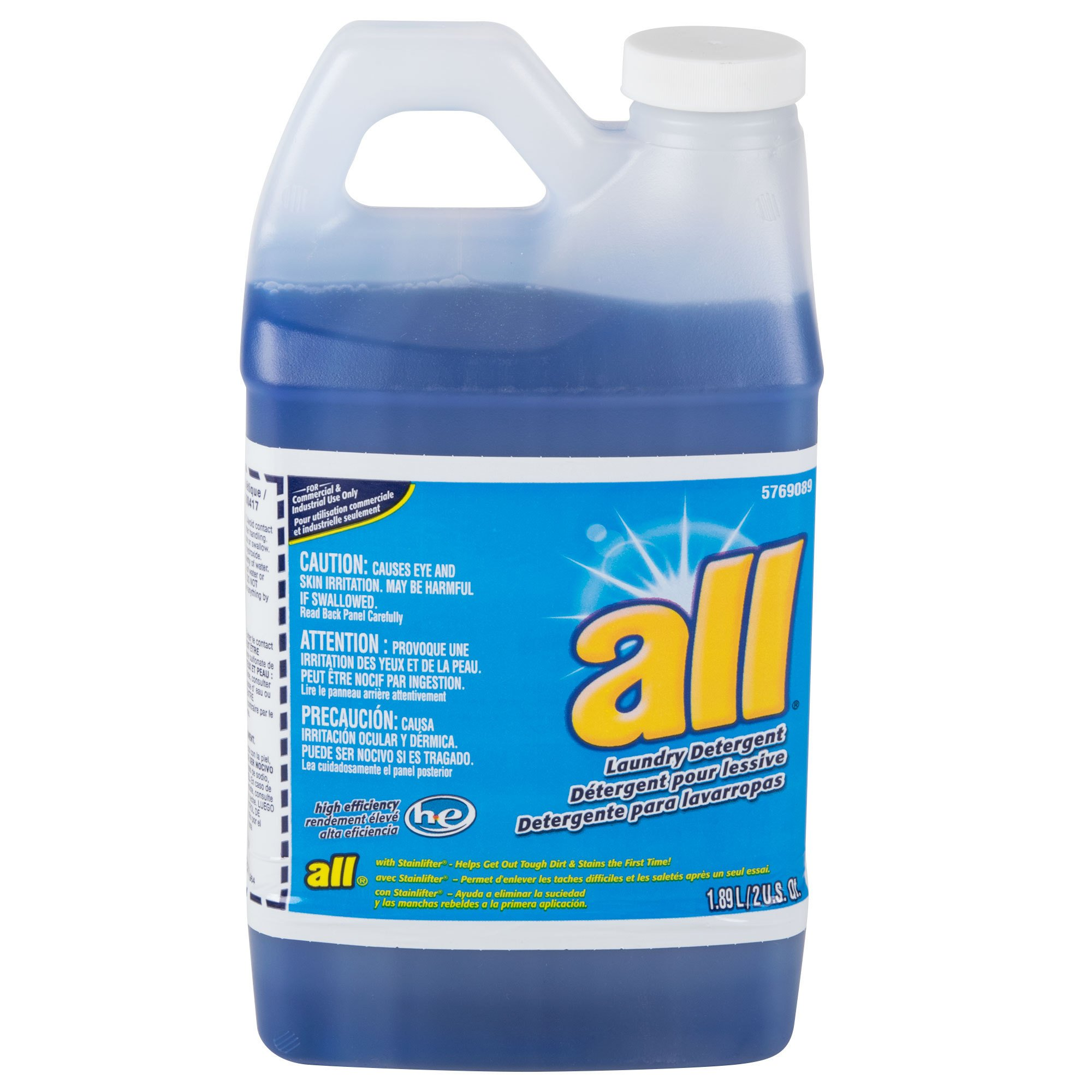 Diversey All Laundry Detergent HE (64-Ounce, 4-Pack)