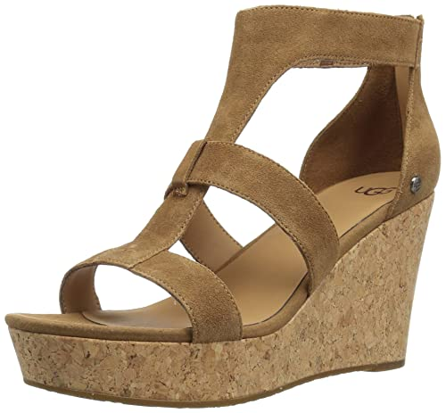 0e3be82bccf5 UGG Womens Whitney Wedge Sandal  Amazon.ca  Shoes   Handbags