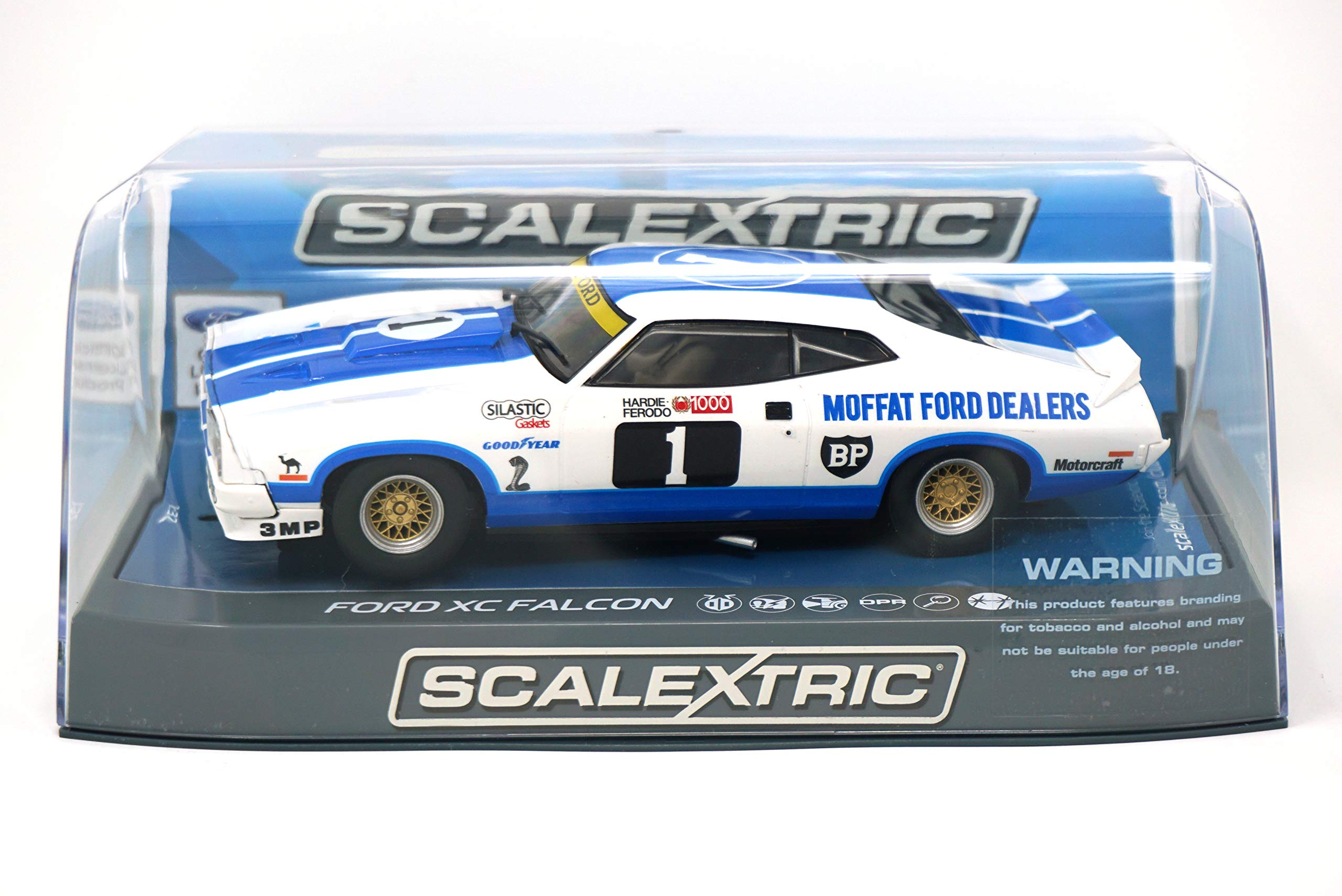 Scalextric C3741 Ford Xc Falcon Moffat Dealers 1978 Bathurst 1000 Slot Car (1: 32 Scale)