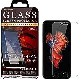[CASEBANK] iPhone6s/ iPhone6 用 液晶保護ガラスフィルム Dragontrail X アイフォン 透明クリア 保護フィルム 強化ガラス 指紋防止 高透明 飛散防止