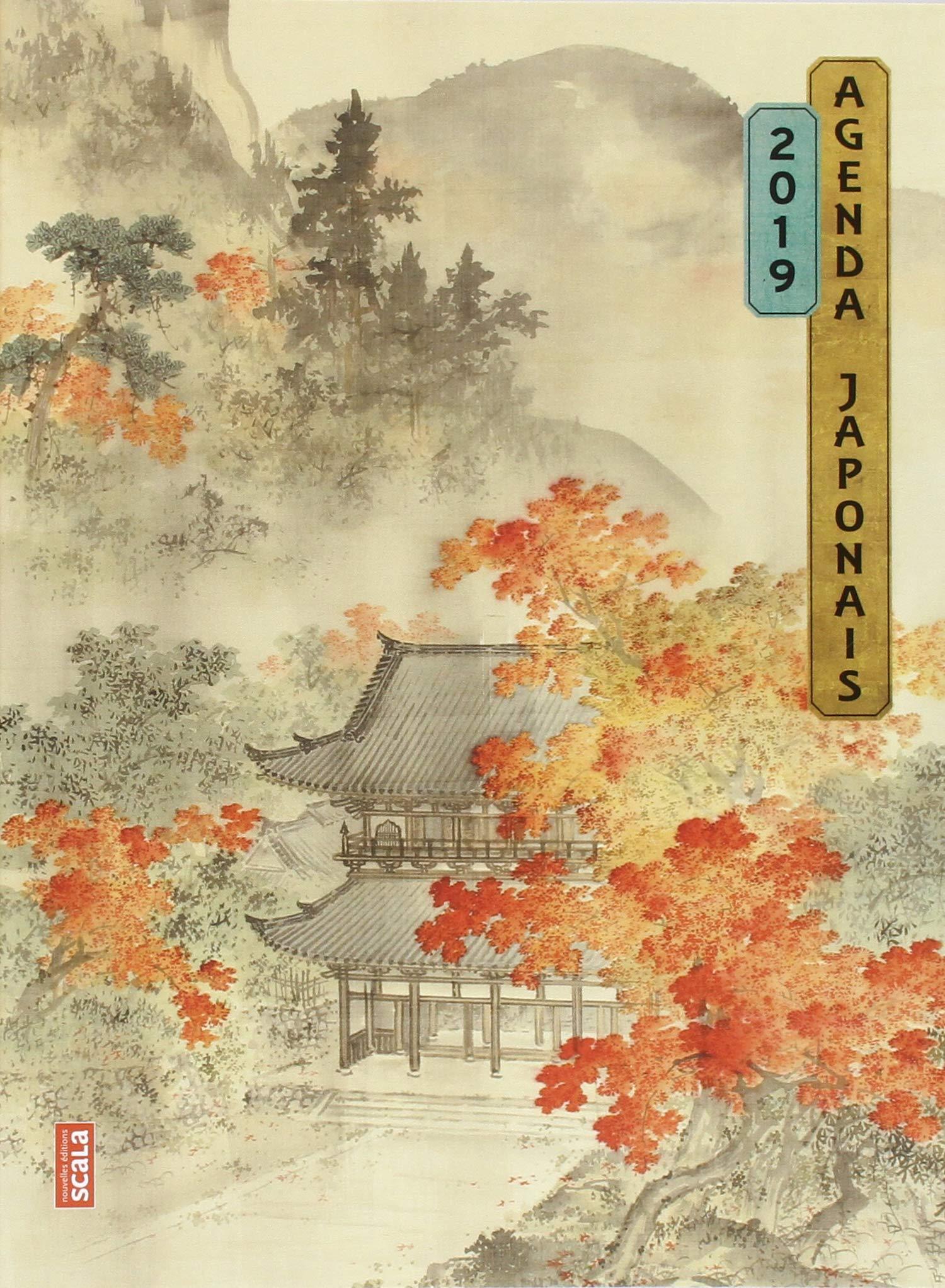 Agenda japonais Broché – 13 septembre 2018 Scala Nouvelles éditions Scala 235988204X Agendas