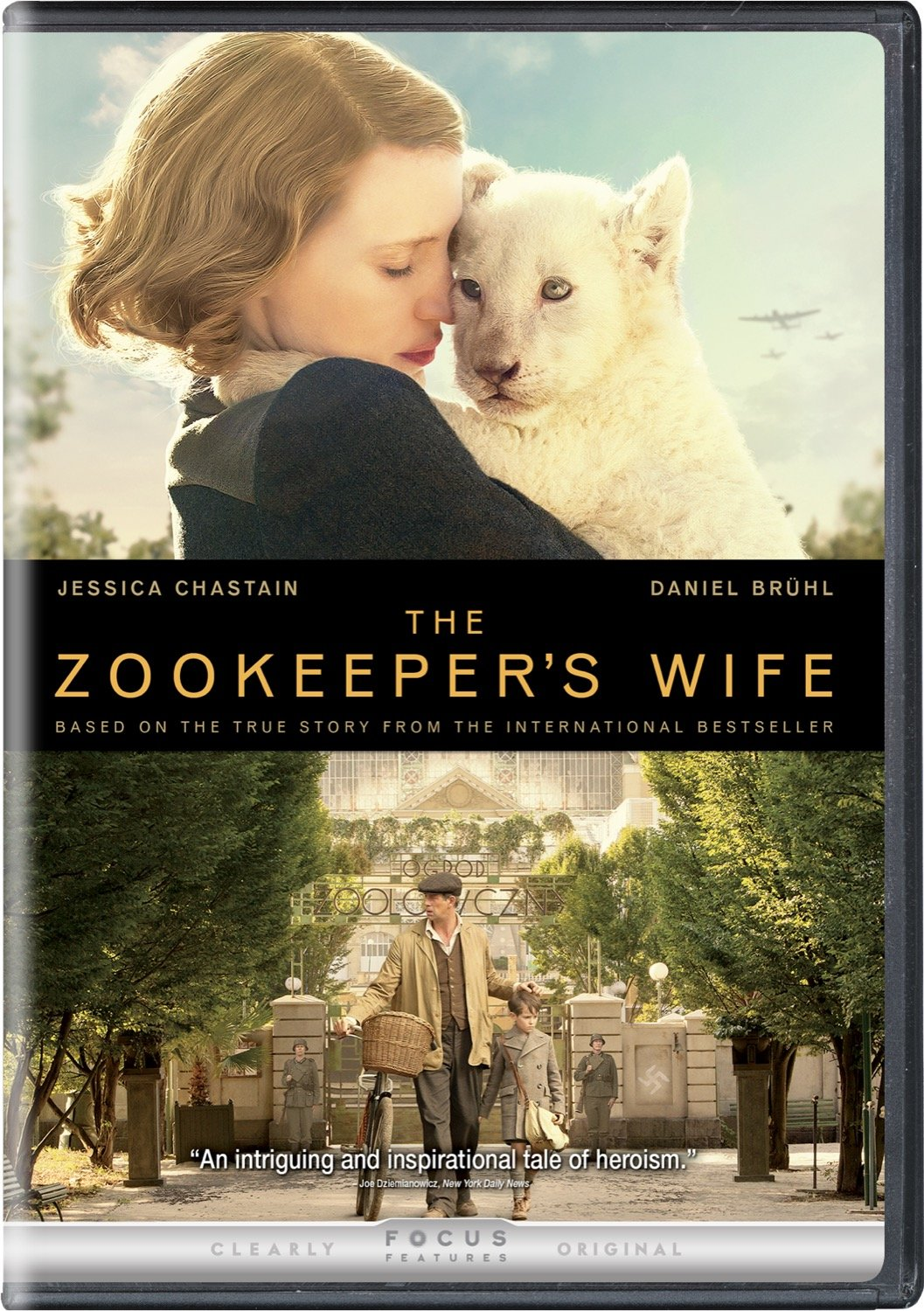 Amazon The Zookeeper's Wife Jessica Chastain Johan