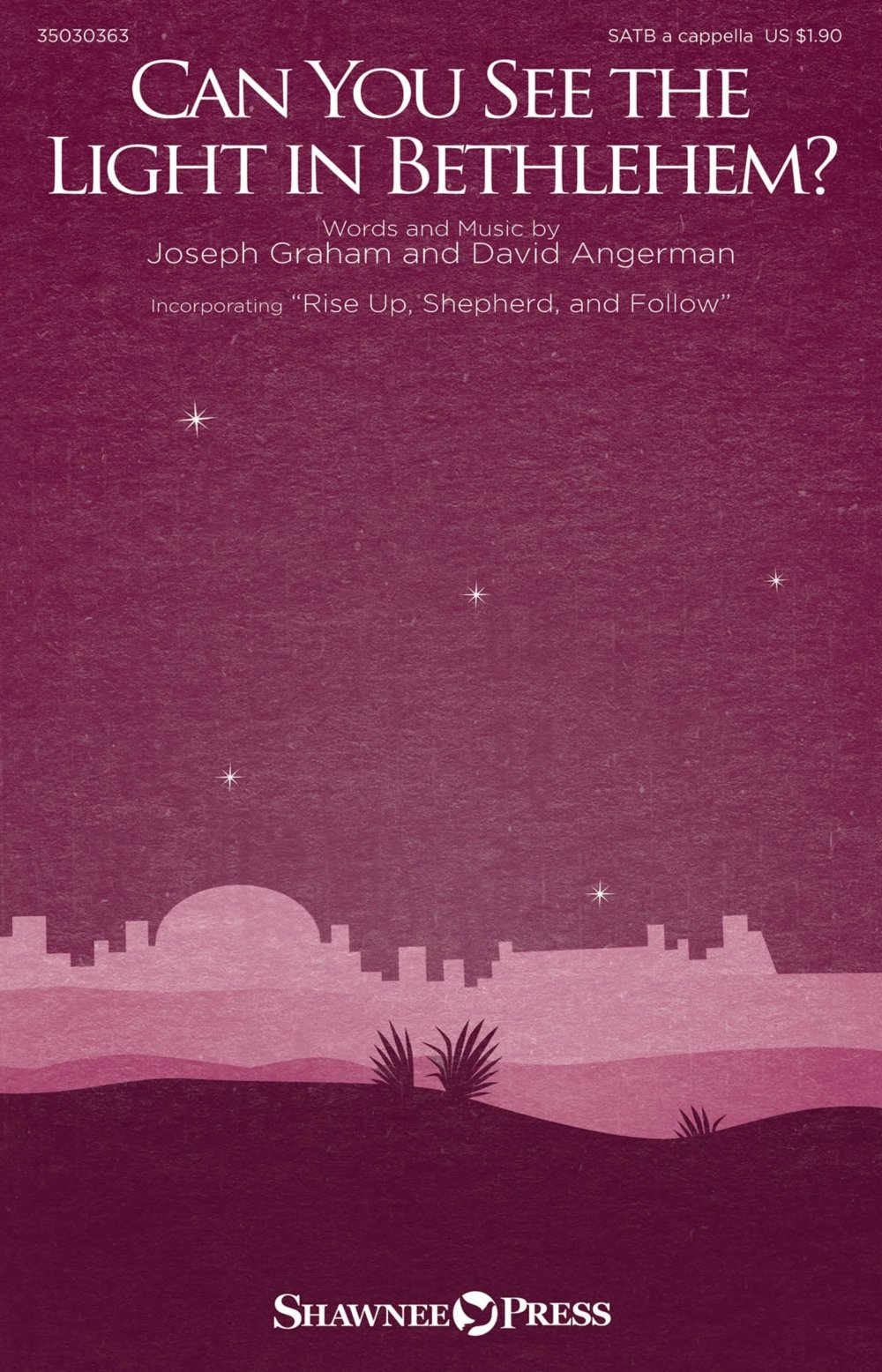 Read Online Shawnee Press Can You See the Light in Bethlehem? SATB a cappella composed by Joseph Graham PDF