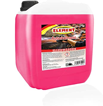 Element Auto Shampoo 5l Profi Autoshampoo Konzentrat Autopflege Autoschampoo Auto