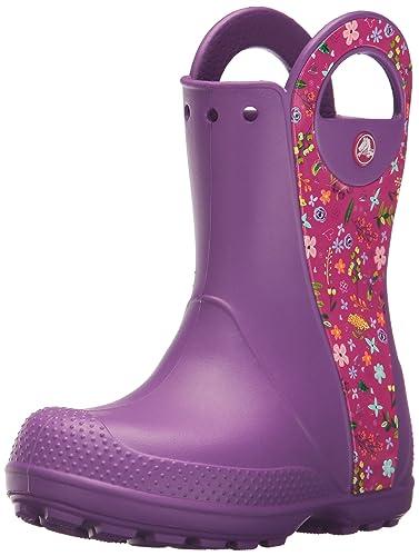 ba0820439 Crocs Kids' Handle It Graphic Rain Pull-On Boot