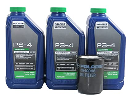 Amazon.com: 2016-2017 Polaris General 1000 Oil Change Kit: Automotive