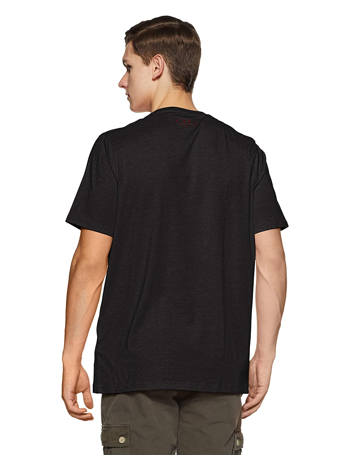 Under Armour Mens Charged Cotton Left Chest Lockup T-Shirt