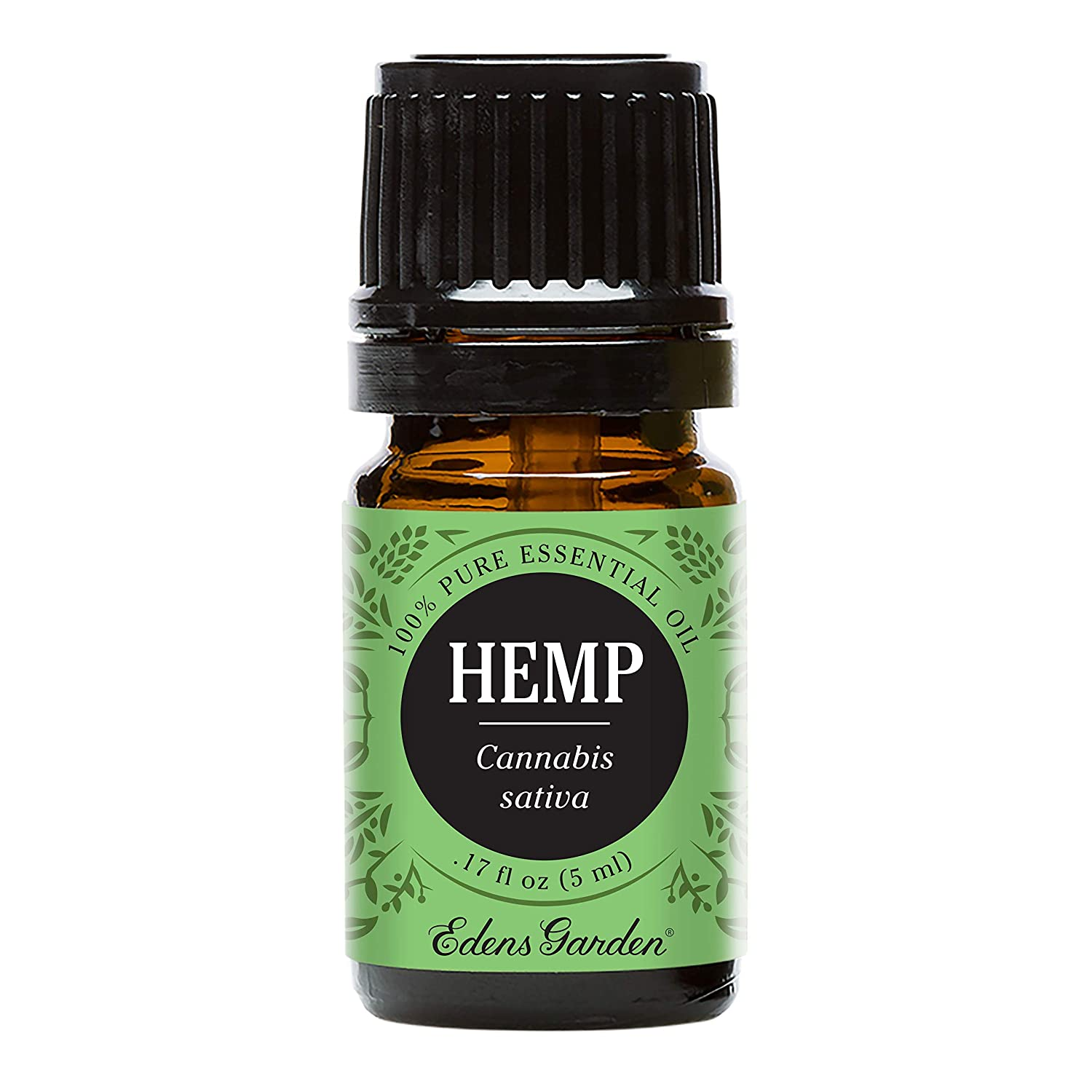 Edens Garden Hemp Essential Oil, 100% Pure Therapeutic Grade (Inflammation & Pain) 5 ml