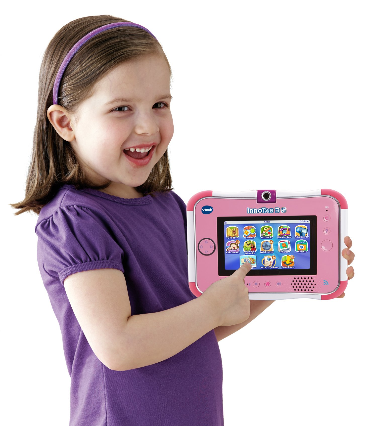 VTech InnoTab 3S Kids Tablet, Pink by VTech (Image #3)
