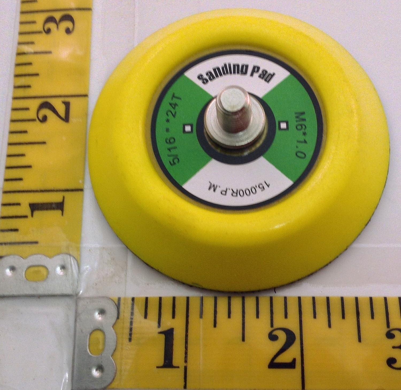 7,62 cm pulidor lija Hook & Loop Backing Pad disco con 5/16