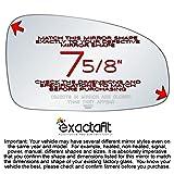 exactafit 8332R Replacement Side Mirror Glass Lens