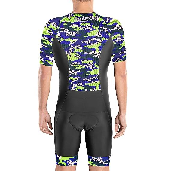 Amazon.com: Trisuit SLS3 Traje de triatlón para hombre ...