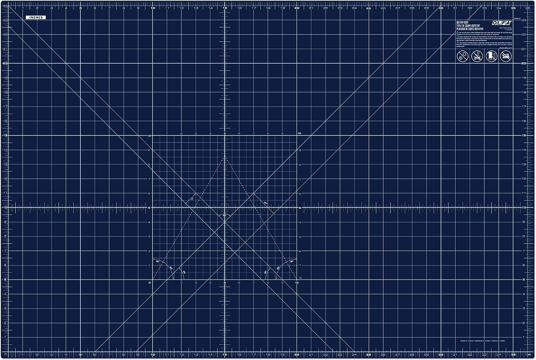 OLFA RM-MG NBL Cutting Mat, 24x36, blue